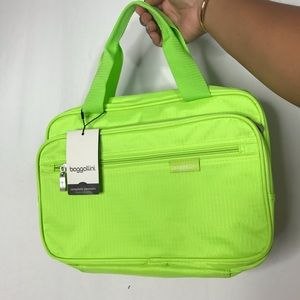 Hot Girl Summer Neon Green Travel Bag